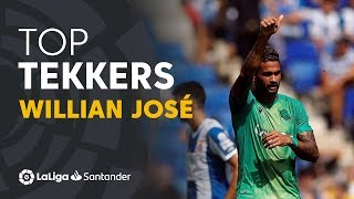 LaLiga Tekkers: Doblete de Willian José contra el RCD Espanyol