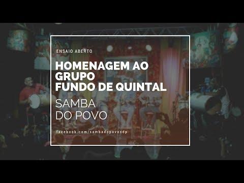 Homenagem ao Grupo Fundo de Quintal -  Samba do Povo (cover)