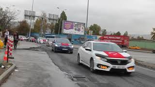 29 Ekim Cumhuriyet Bayramı Honda Konvoyu