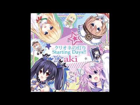 Clione No Akari/starting Days!! / Aki - Megadimension Neptunia Viir Op Single - Full In Hd Quality.
