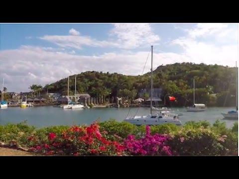 Capricious Antigua: Nelson's Dockyard, Falmouth Harbor & more / Sailing Aquarius #4