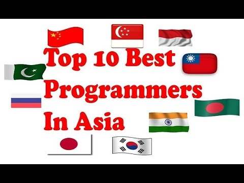 Top 10 Best Programmers In Asia | best programmers in the world by country | Latest Ranking 2017