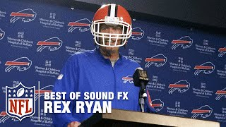 Rex Ryan Press Conference Moments | Best of Sound FX | NFL