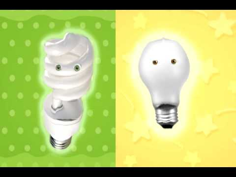 Energy Conservation for Kids - Lighting