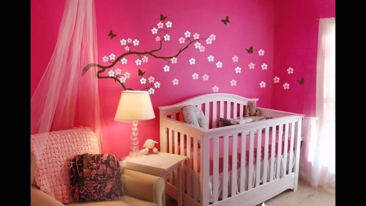 Best Baby girl nursery decorating ideas - YouTube