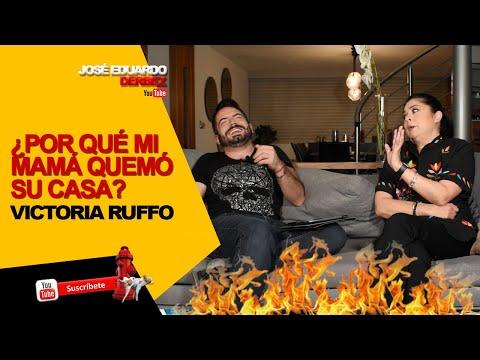 ¿POR QUÉ MI MAMÁ QUEMÓ SU CASA? | Entrevista Victoria Ruffo PARTE 1 | José Eduardo Derbez