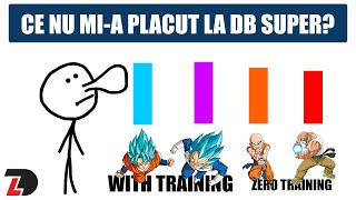 CE NU MI-A PLACUT LA DRAGON BALL SUPER?
