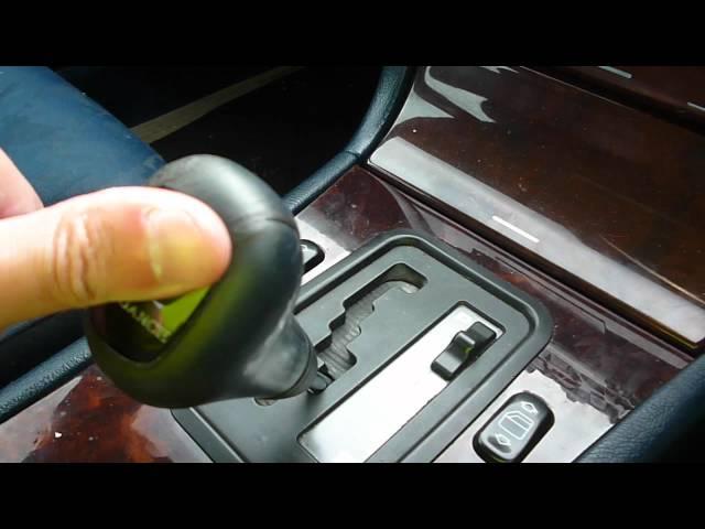 mercedes w210 problem z wybierakiem skrzyni biegow