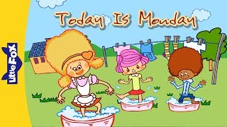Today Is Monday | Learning Songs | Little Fox | Animated Songs for Kids