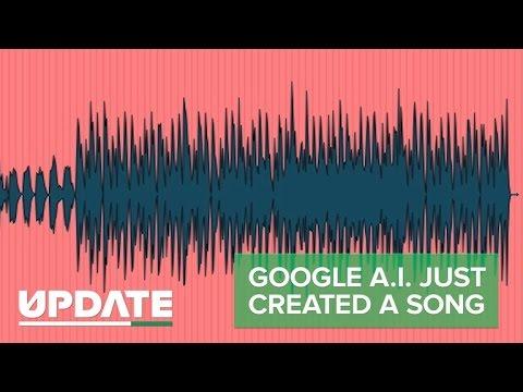 Google A I  just created music (CNET Update)