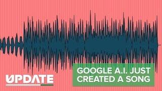 Google A. I. soeben erstellte Musik (CNET Update)