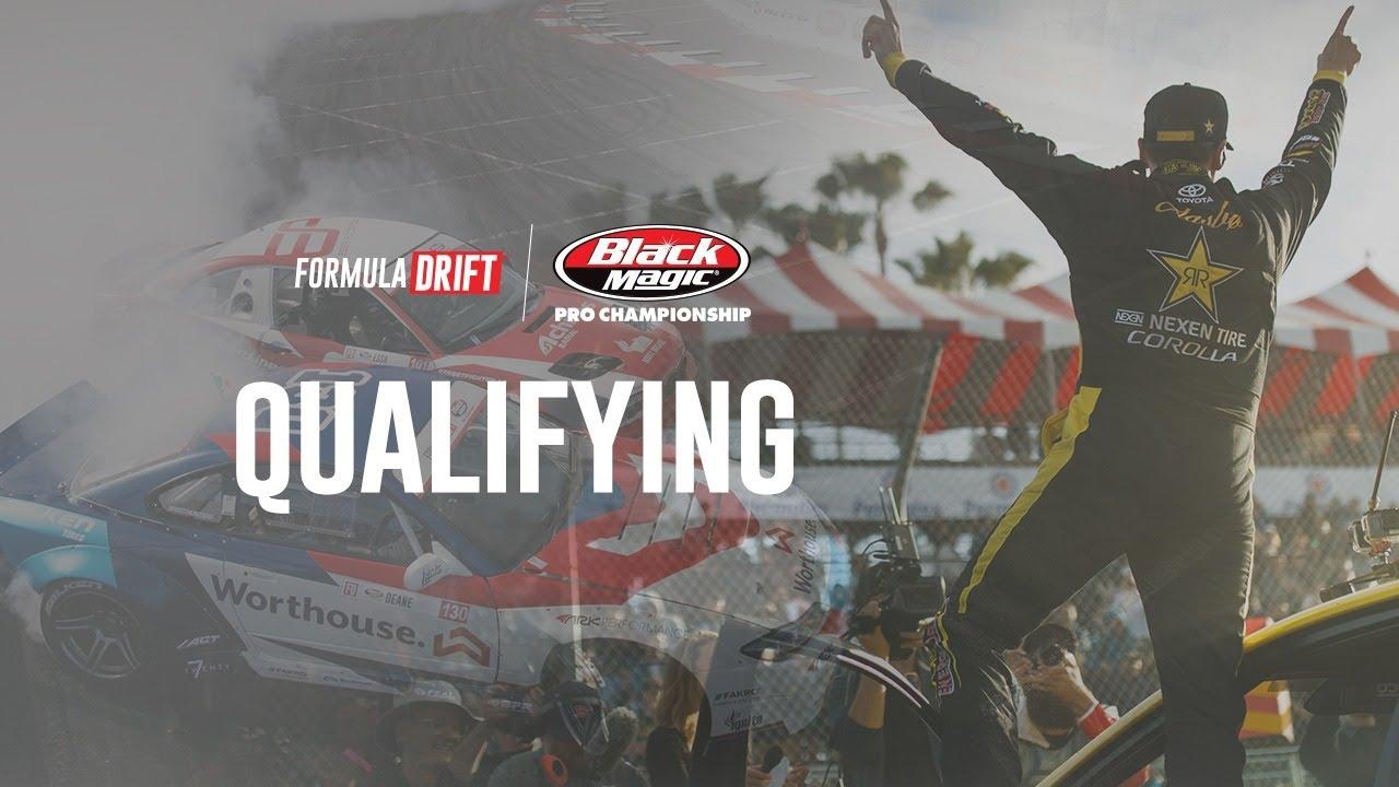 Formula DRIFT - Long Beach 2019 - Qualifying LIVE! - YouTube