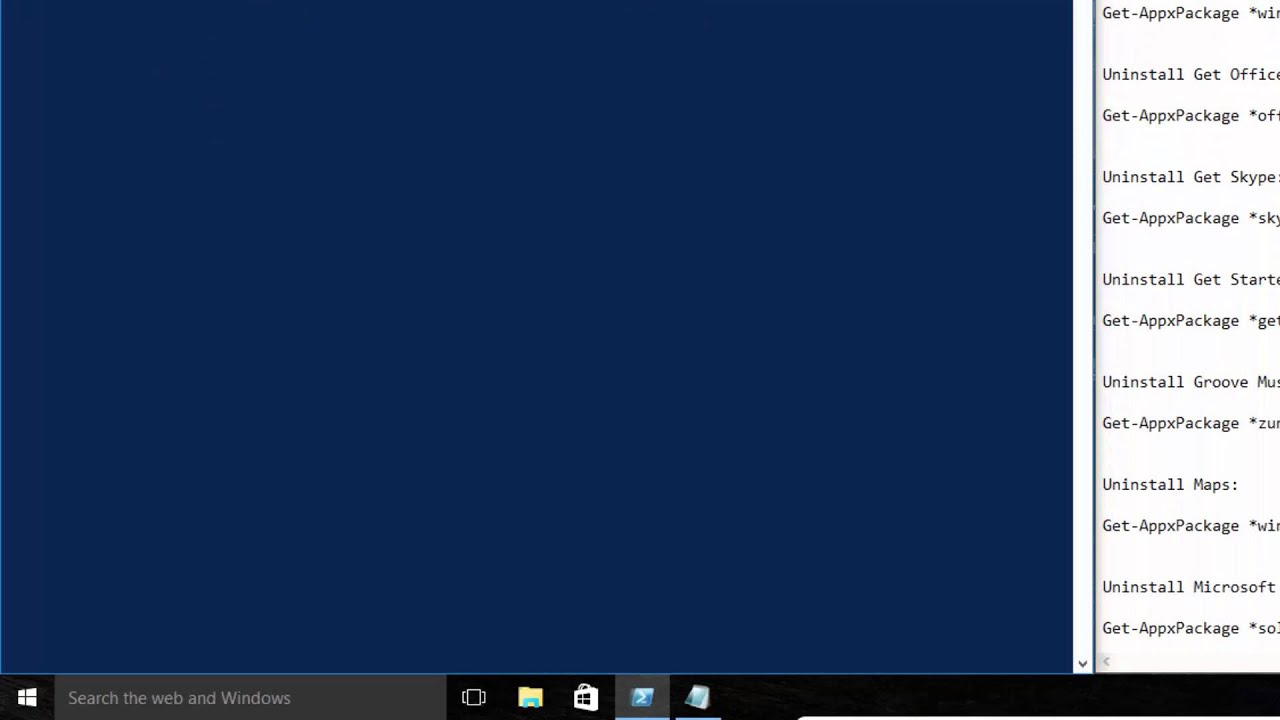 How to Remove Windows 10 Built in Apps (Metro Apps)