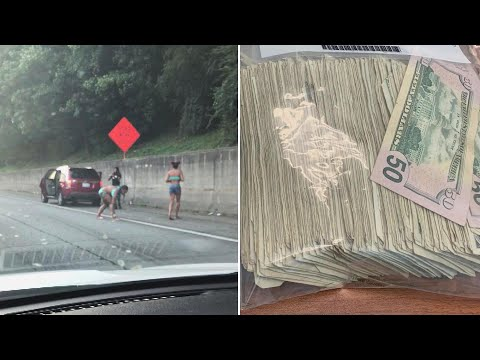 Highway to Money Heaven: Georgia Drivers Dodge Traffic for Flying Cash