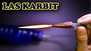 Experiment Bikin Las Karbit Mini  |  Tidak untuk ditiru/dicoba... !!!