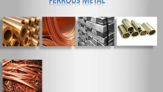 DIFFERENCE  BETWEEN FERROUS & NON- FERROUS METAL
