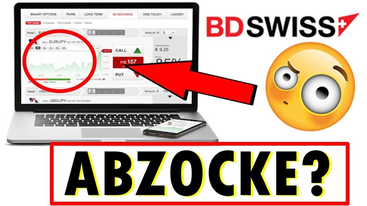 Bdswiss Abzocke