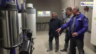 Ferme ouverte soplan élevage (matériel de traite / robotique)