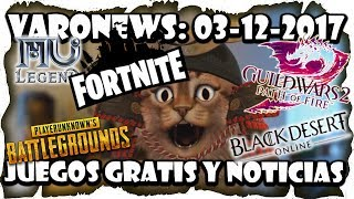 Free Games and News! #Fortnite Battleroyale, Mu Legend, Elder Scrolls Online, GW2 Varonews