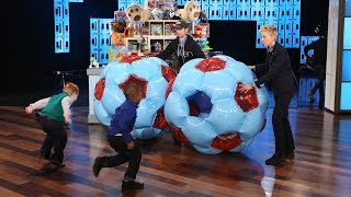 Download Ellen's Adorable Toy Testers Mp3 and Videos