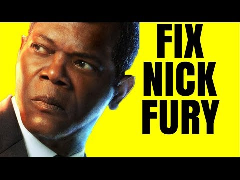 Captain Marvel's Nick Fury Problem