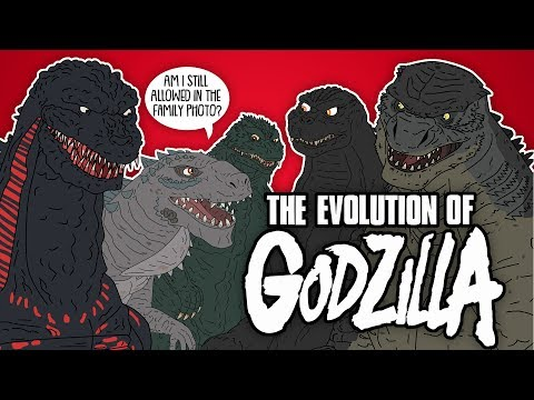 The Evolution Of Godzilla (Animated)