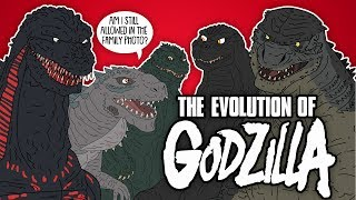 The Evolution Of Godzilla Animated