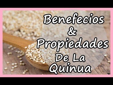 principales nutrientes de la quinoa