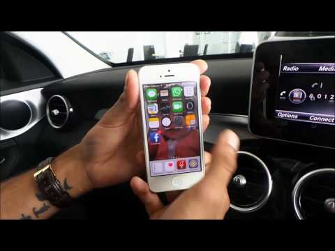 How To Pair The Iphone To A Mercedes Benz Command System