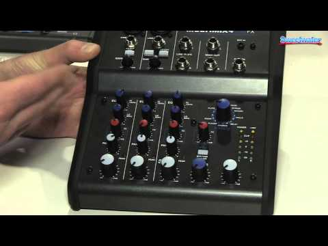 Alesis MultiMix 4 USB FX Mixer Overview - Sweetwater at Winter NAMM 2014