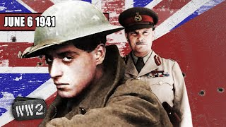 British Officers Abandon Their Men to the Nazis - WW2 - 093 - June 6 1941