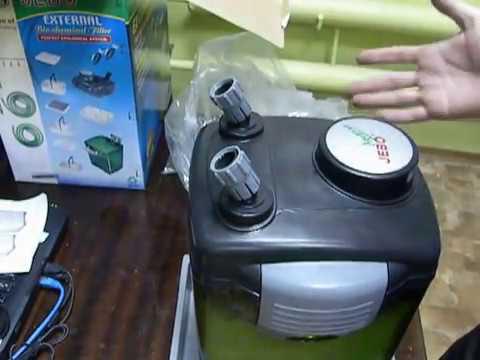 Фильтр для аквариума resun B 700! Небольшой обзор аквариумного .