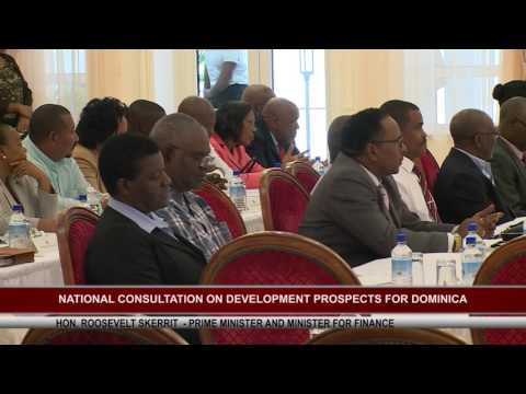 NATIONAL CONSULTATION FOR DEVELOPMENT PROSPECTS