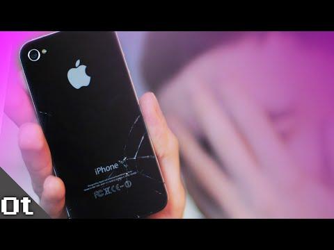 ПОЧИНИЛ и тут же РАЗБИЛ iPhone 4