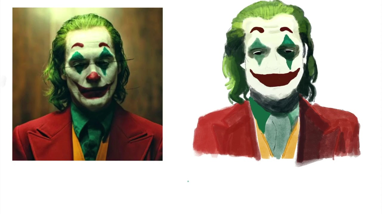 Drawing Joker Timelapse!