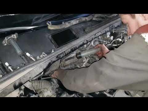 Замер компрессии TOYOTA HIGHLANDER 2011 года с 3,5 мотором 2GR