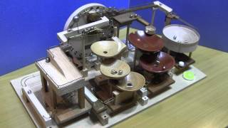 The second machine. geared motor : GH810136V3L (Gizmoszone) ball : ...