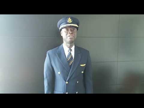 Ghanaian pilot, Capt Quainoo  flies World's biggest passenger aircraft to Accra
