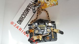 UNBOXING #MOSCHINO [TV] H&M. Small leather shoulder bag
