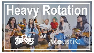 Download JKT48 Acoustic feat The Rain - Heavy Rotation (Acoustic Cover) Mp3