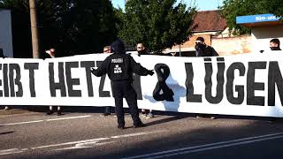 Für eine antifaschistische Provinz -Naziprovokation in  Salzwedel 14.Juli  2018