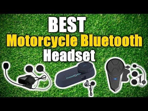 Best Motorcycle Bluetooth Headset 2020 [RANKED] | Best Reviews USA