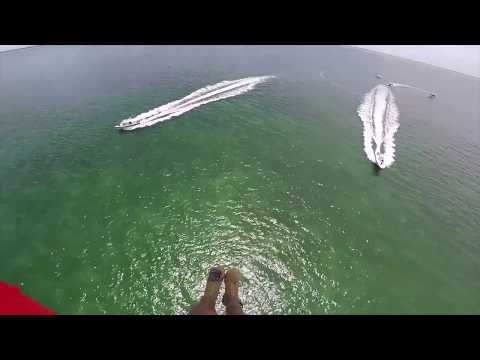 UH-60 Black Hawk Helicopter Paratrooper Water Jump