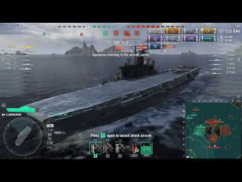 World of Warships AUDACIOUS 199K DMG Queen of the Bomb