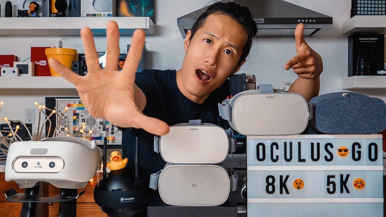Oculus Go & Oculus Quest Max Resolution for 360VR Videos - 8K or 5 2K?