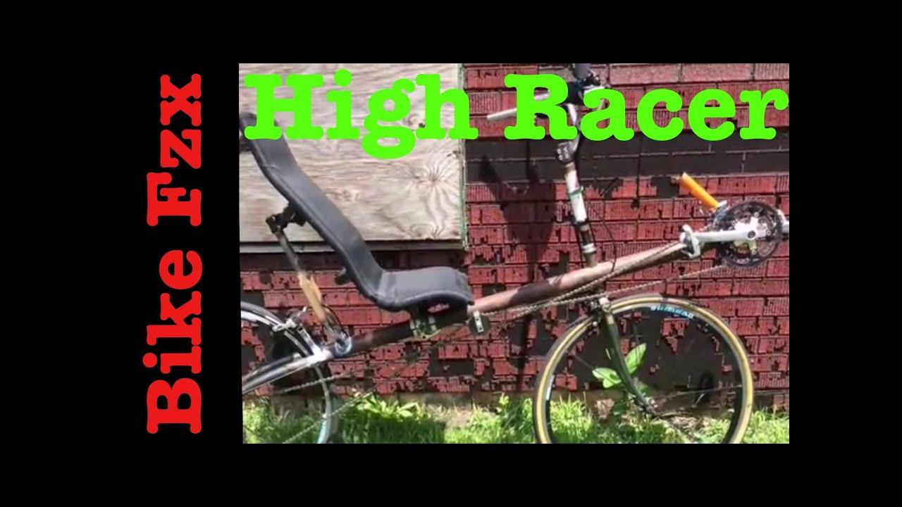 Dual 700 Recumbent High Racer Youtube