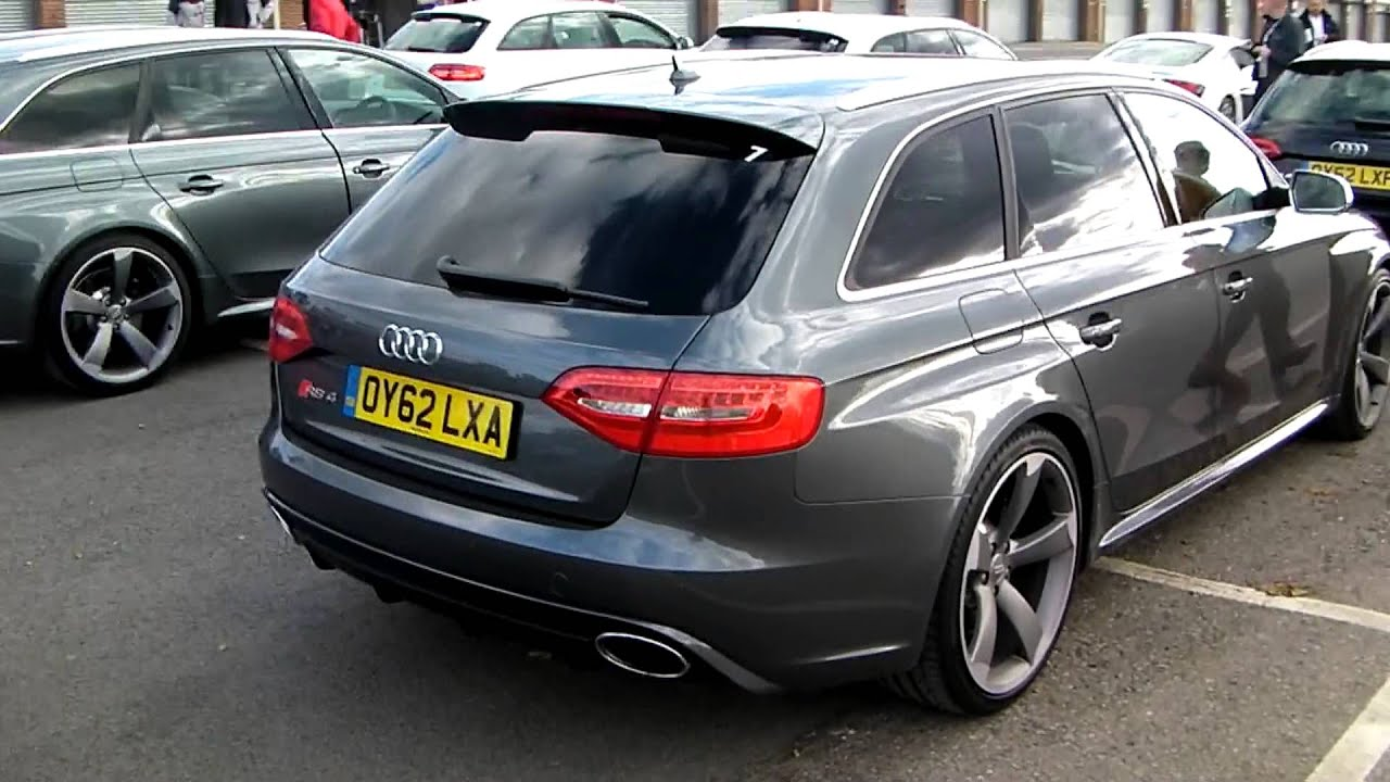 Audi Rs4 B8 2012 Oulton Park Youtube