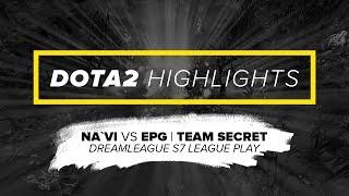 NAVI.Dota2 Highlights vs EPG, Team Secret @ DreamLeague S7