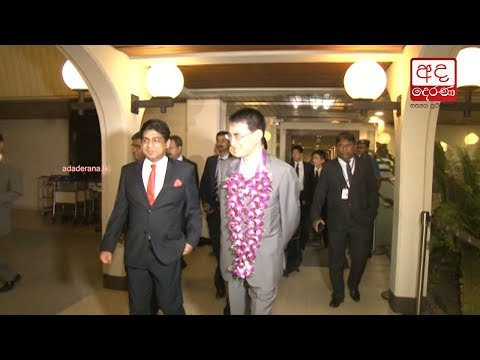 Japanese foreign minister Taro Kono in Sri Lanka for official visit