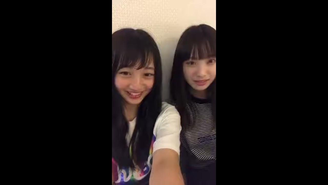 山本彩加 梅山恋和  instagram live 20180614